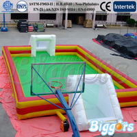 Chinese Factory Price Inflatable Soccer Field Sport Game With Blower