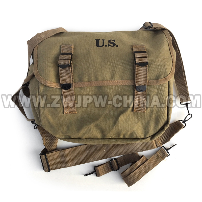 WWII WW2 US Army M1936 Haversack M36 Musette Field Military Hunting Hiking Climbing Camping BackPack Bag US/107103