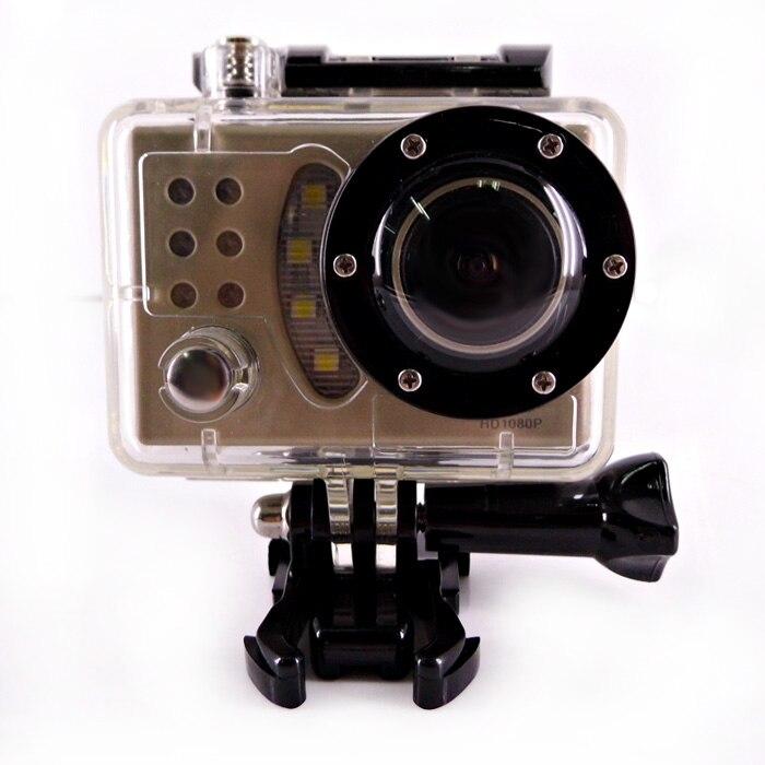 Caméra d'action étanche Winait FULL hd 1080p avec caméra sport numérique grand angle 170 degrés
