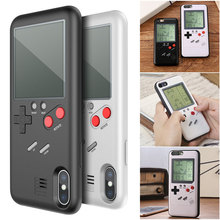 Tetris Phone Case Handheld Game Players Cover Game
