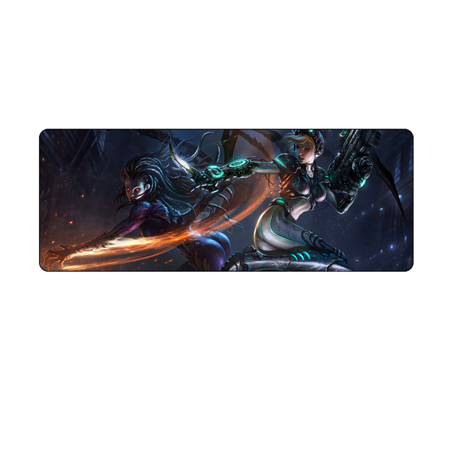 800*300 large game mouse pad for starcraft 2 800*300mm Overlock pc gaming for starcraft2 gaming mousepad speed  2
