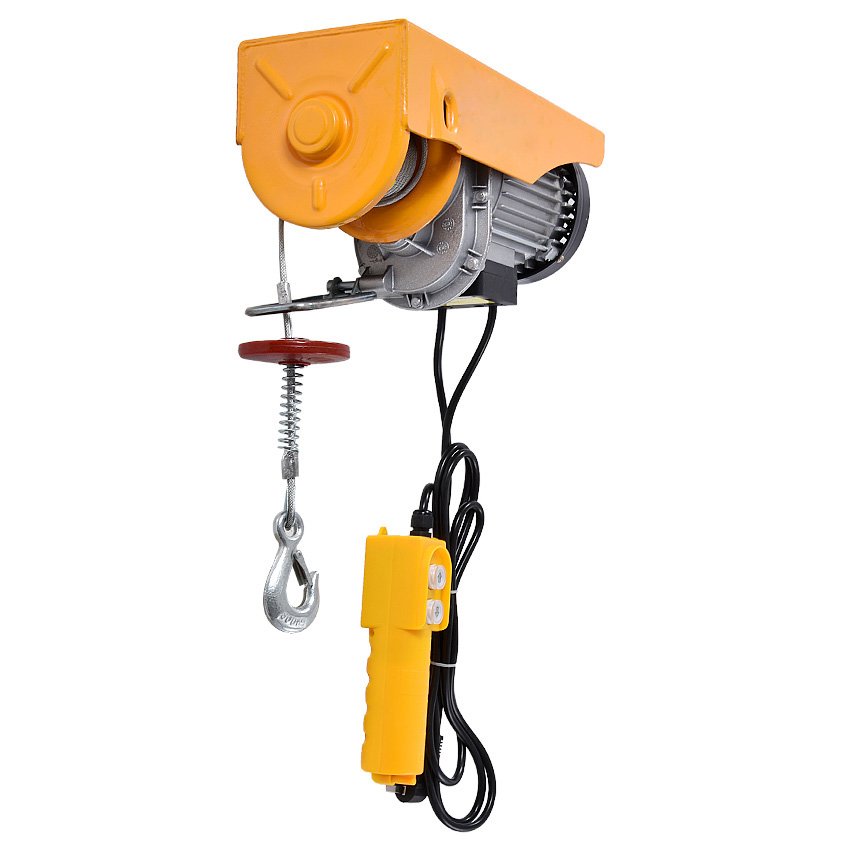PA400 Mini Electric Hoist Crane Portable 200-400kg 12 Meters Small Home Crane Renovation Crane 110V/220V 950W 12m/min Hot SalePA400 Mini Electric Hoist Crane Portable 200-400kg 12 Meters Small Home Crane Renovation Crane 110V/220V 950W 12m/min Hot Sale