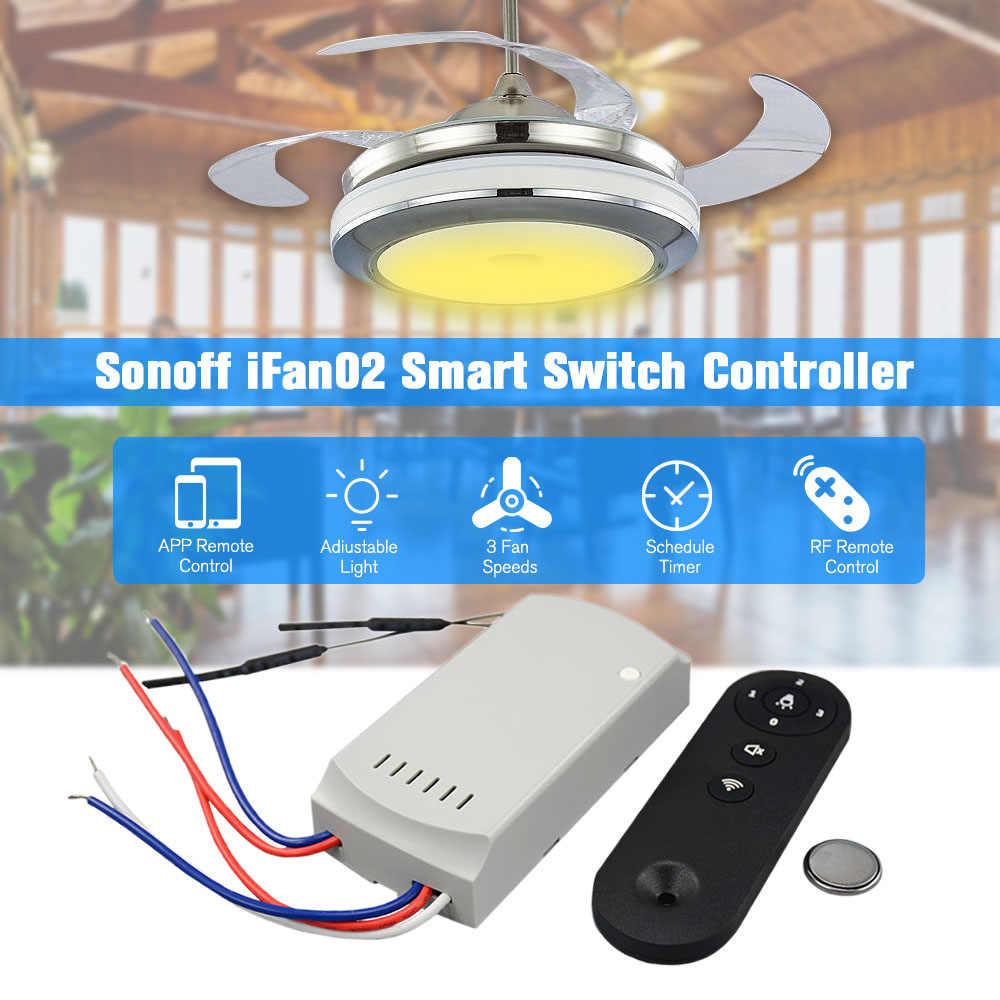 Detail Feedback Questions About Sonoff Ifan02 Fan Controller Wifi