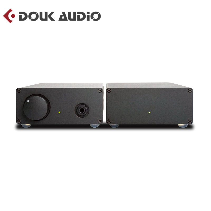 цена на Douk Audio HiFi Stereo Headphone Amplifier Split Design of Power and AMP Inspired by Naim
