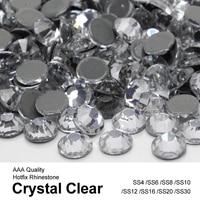 Bulk Packing Wholesale Crystal Similar Hotfix Rhinestones SS6 SS10SS16 SS20 SS30