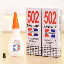 Strong Super Glue 502 Liquid Touch Cyanoacrylate Adhesive School Rubber Plastic Office Tool Jewelry Fabric Sealant Accessory Kit(China)