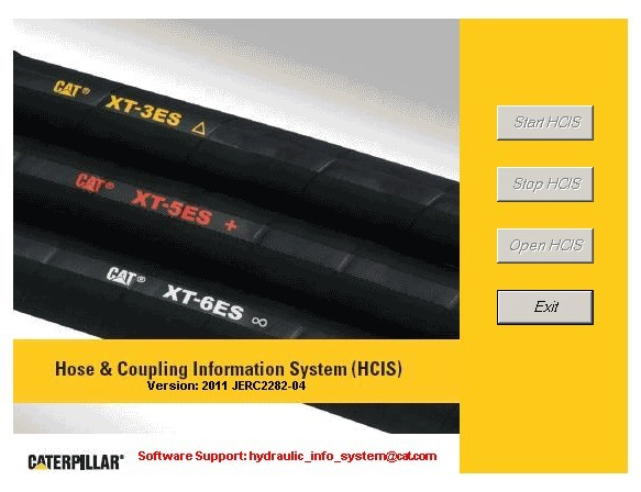 Hose & Coupling Information System (HCIS) for cat