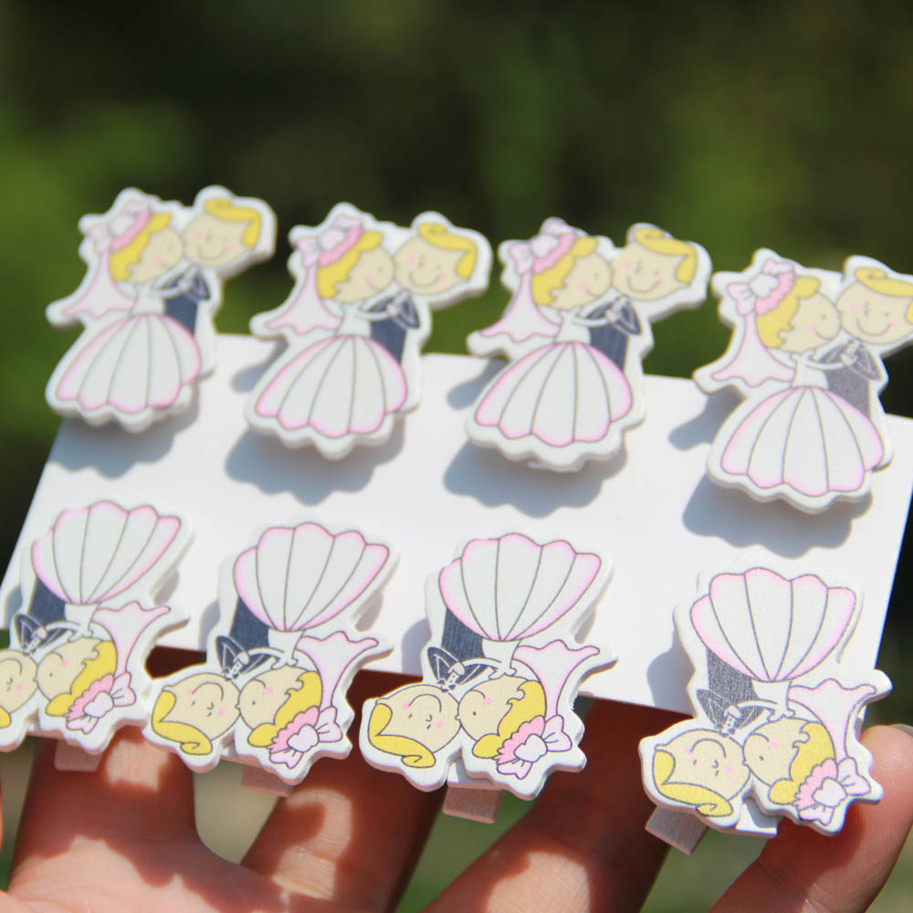 Wooden Handmade wedding Pegs Clip,Photo Clip& Paper Card Pegs baby ...