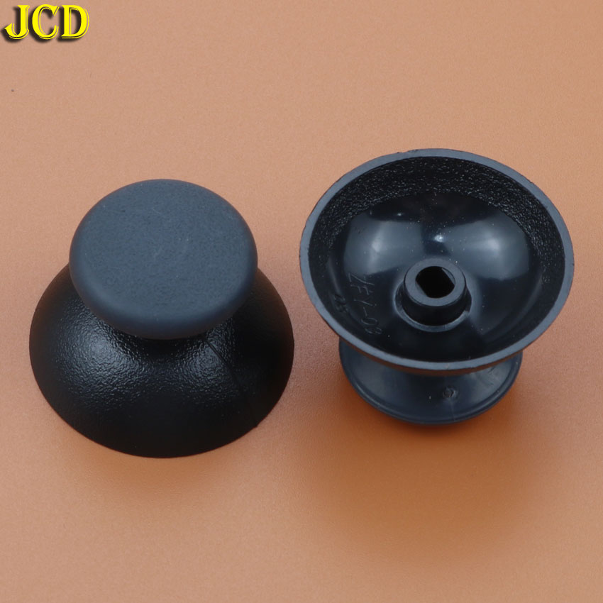 Image 2 - JCD 2pcs 3D Analog Joystick Cover Joystick Mushroom Cap For Sony Playstation 3 for PS3 Controller-in Replacement Parts & Accessories from Consumer Electronics