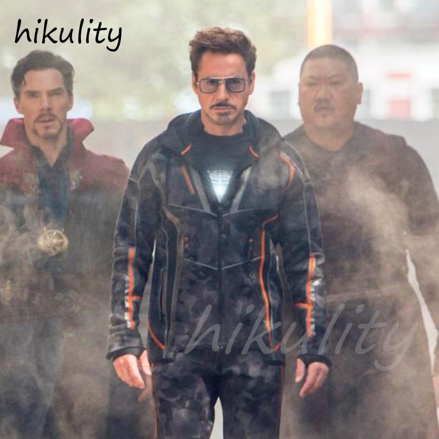 a07e143df25 Avengers Infinity War Tony Stark Sunglasses Luxury Brand Iron Man Glasses  Rectangle Vintage Superhero Sun Glasses Clear for Men-in Men s Sunglasses  from ...