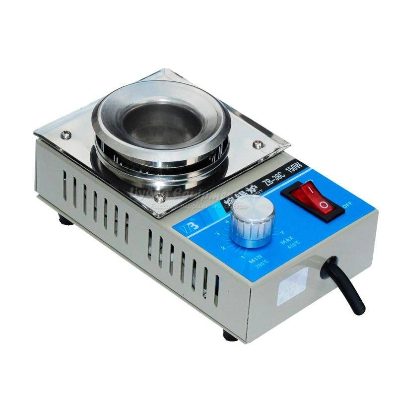 Melt solder furnace circuit board tin pot adjustable constant high-temperature circular tin dipping machine melt banana japan