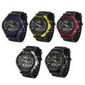 Moda ALIKE Hombres Reloj Digital LCD Del Reloj Del Deporte de Múltiples Funciones Militar de Cuarzo Analógico Reloj de Pulsera Relogio masculino Venta Caliente