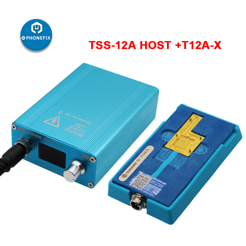 SS-T12A iPhone 6 7 8 X XS MAX PCB motherboard Disassembly Desoldering Heating Station 185 degrees accurate Rapid Separation ToolSS-T12A iPhone 6 7 8 X XS MAX PCB motherboard Disassembly Desoldering Heating Station 185 degrees accurate Rapid Separation Tool