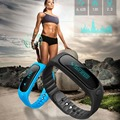 Smartband E02 rastreador de fitness Deporte Salud Pulsera de Pulsera Impermeable para IOS Android Inteligente fitbit flex Band 4.0 Bluetooth
