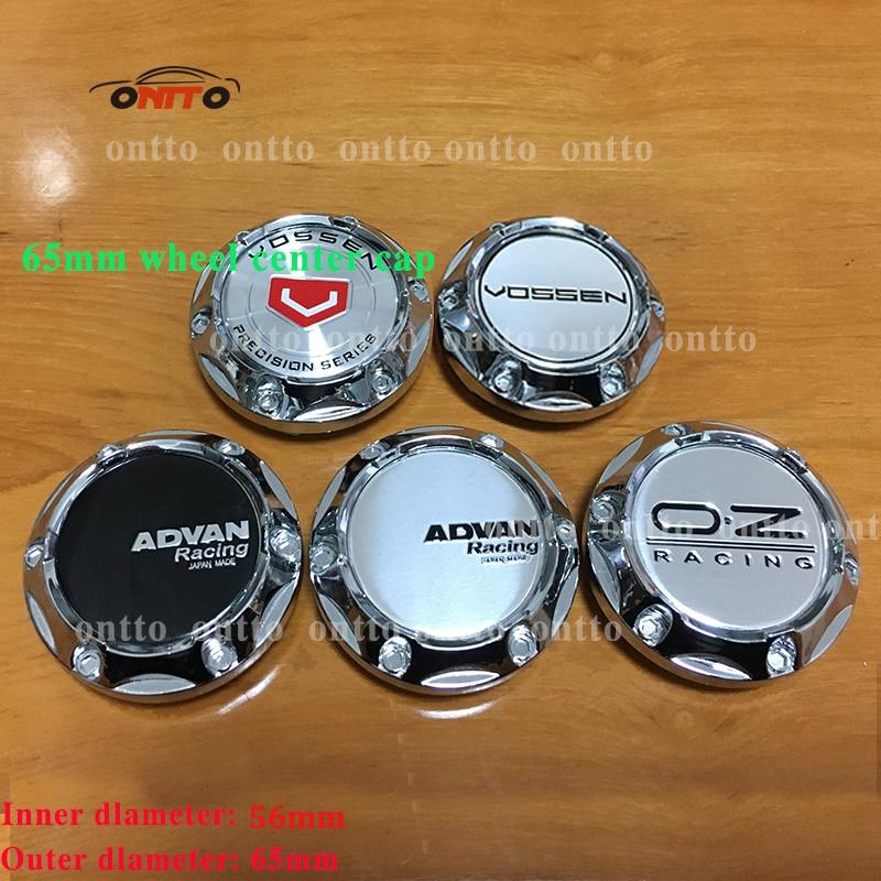 20pcs 65mm Vossen Advan Racing Oz Car Wheel Center Center