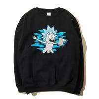 New Fashion Rick And Morty Sweatshirt Women Men Harajuku Style Printed Cartoon Hoodies Funny Crewneck Sweatshirts