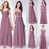 Ever Pretty Long Prom Dresses 2018 Pleated A Line Floor Length Vestido De Festa Women Elegant Sleeveless Banquet Party Dress