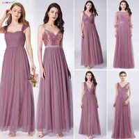 Sempre muito longo vestidos de baile 2020 plissado a linha de chão comprimento vestido de festa feminino elegante sem mangas banquete vestido de festa