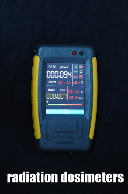 touch screen Introduction to personal radiation dosimeters Defector