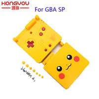 Para Gameboy Advance GBA SP carcasa completa cubierta Color amarillo versiones limitadas