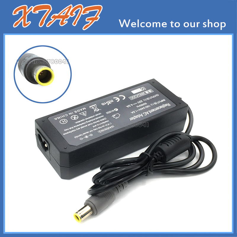 Consumer Electronics Diplomatic New 1pcs 20v 4.5a 90w Laptop Ac Adapter Charger For Lenovo Thinkpad T60 T61 E30 E31 E40 Home Electronic Accessories