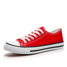 Women Canvas Shoes Platform Sneakers Woman Casual Loafers Fashion Shallow Lace-up Neutral Century Classics Style Striking Shine