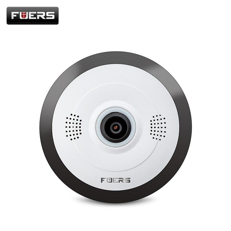 FUERS 960 P Ip Camera 360 Gradi Panoramica di Sicurezza Domestica Mini Macchina Fotografica Wifi P2P Fisheye Telecamere di Sorveglianza Telecamera di Visione notturna