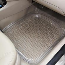5 PCS SET Car Floor Mats for VOLKSWAGEN  POLO PVC Foot Pads Auto All Weather Rugs Set 3D Car-styling (2003-now) for hyundai getz 2002 2011 3d floor mats into saloon 4 pcs set element nlc3d2008210k