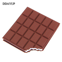 Chocolate Stickers kawaii Creative Sticker Diary High Quality Note Notebook Papeleria Office Supplies papeleria memo pad