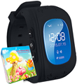 Smart Watch Дети Q50 Bluetooth Дети Дети Смотрят GPS Locator Tracker Anti-Потерянный Sim-карты SOS Вызова Браслет WirstWatch TURNMEON