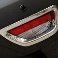 Бесплатная Доставка Высокое Качество ABS Chrome Задних Противотуманных Фар крышка лампы Отделка Противотуманных Фар абажур Отделкой Для Renault captur