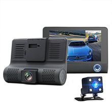 1080P Car DVR 4Dual Lens Dash Cam Front and Rear Video Recorder Camera