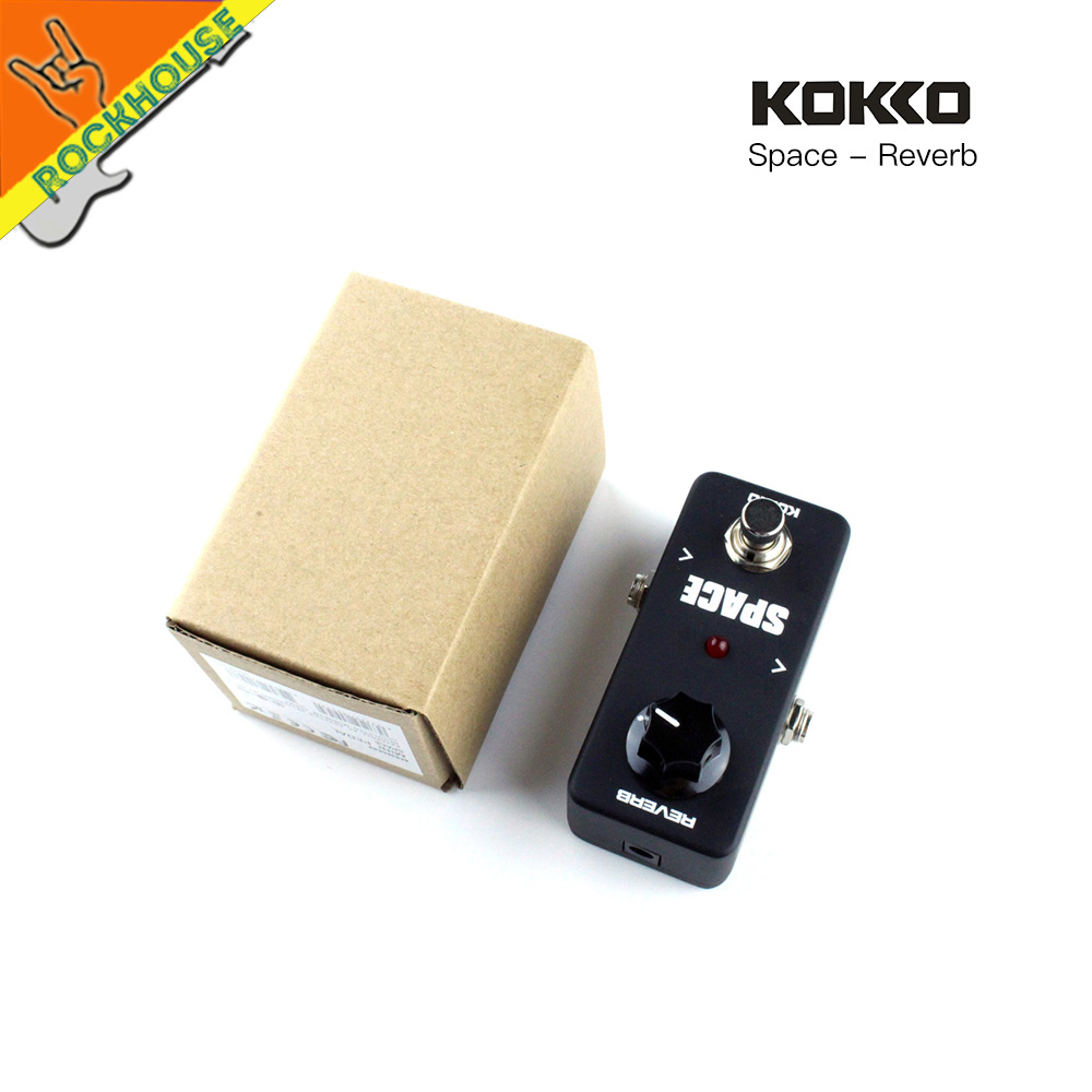 KOKKO Analog Reverb Guitar Effects Pedal Reverb Guitarra Reverberation Pedal nice Space Echo effect True Bypass Free Shipping mooer ensemble queen bass chorus effect pedal mini guitar effects true bypass with free connector and footswitch topper