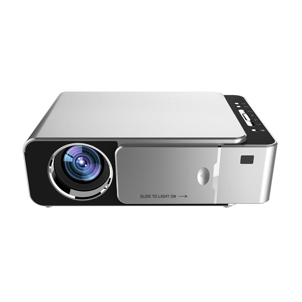 T6 3500 lumenów HD przenośny projektor led 1280*720 natywna rozdzielczość 720P HD rzutnik USB VGA HDMI Beamer do kina domowego