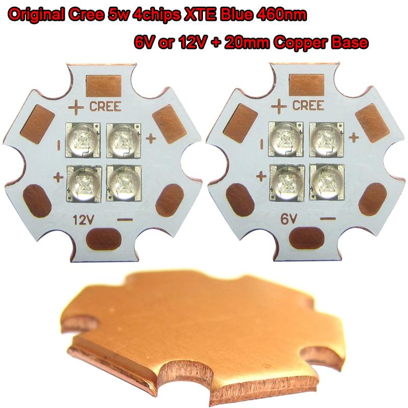1 հատ հատ Original Cry 5w 4 / չորս չիպսեր XTE Blue - Լուսավորության պարագաներ - Լուսանկար 1