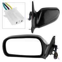 Non Folding Durable Car Right Side Mirror Driver side RH Mirror for 97 01 Toyota Camry CE/LE/XLE Sedan 4 Door