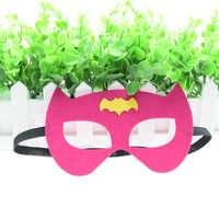 Batgirl Batman Maske Avengers Flash Superhero Cosplay Joker IronMan Prinzessin Halloween Weihnachten kinder erwachsene Partei Kostüme Masken