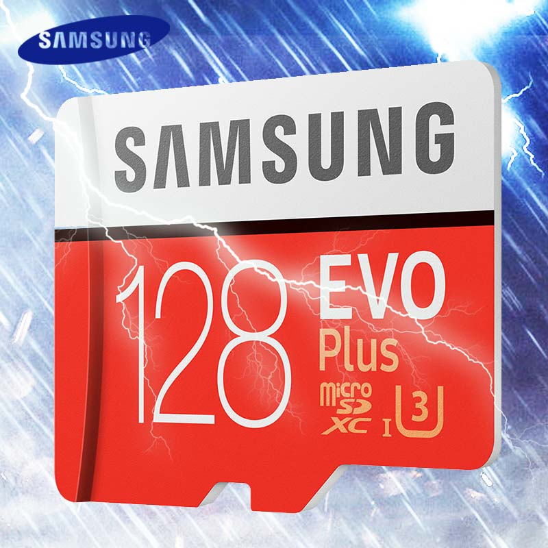 Samsung карты памяти 256 ГБ 128 ГБ 64 ГБ 32 ГБ 16 ГБ 100 МБ/с. Micro SD <font><b>Card</b></font> Class 10 u3 U1 MicroSD флэш-карты памяти для телефона SDHC SDXC