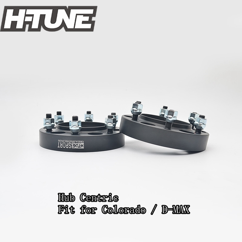H-TUNE 4PCS Forged Aluminum Hub Centric 6x5.5 108CB 30mm Wheel Spacers Adapters for D-Max/Colorado 2 pieces of specialized in the production of wheel adapters wheel spacers 4 x100 suitable for toyota corolla vios and yaris