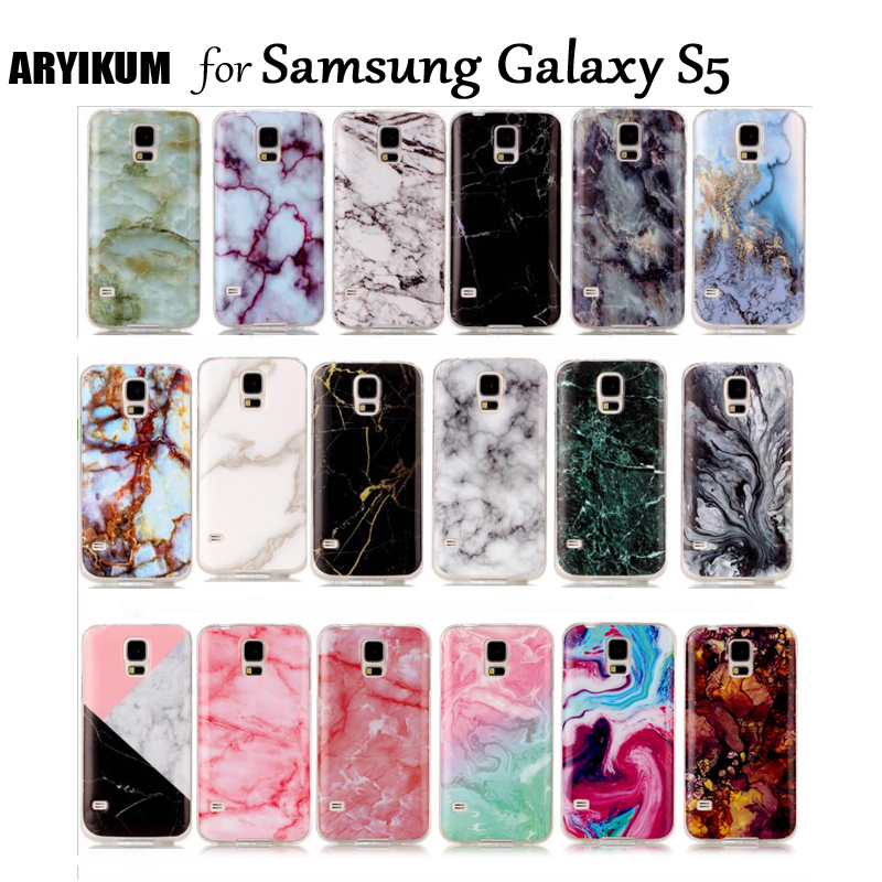 For Samsung Galaxy S5 Neo Case Samsung SM G900 G900F S 5 IV Silicon Black Pink Marble Soft TPU Covers For Samsung S5 Phone Cases