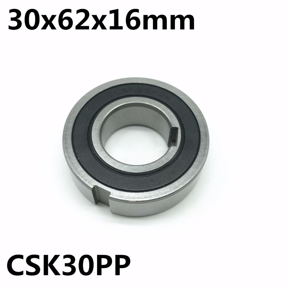 CSK30 CSK30PP 30x62x16 mm One Way Bearing With Keyway Sprag Freewheel Backstop Clutch Free shipping mz15 mz17 mz20 mz30 mz35 mz40 mz45 mz50 mz60 mz70 one way clutches sprag bearings overrunning clutch cam clutch reducers clutch