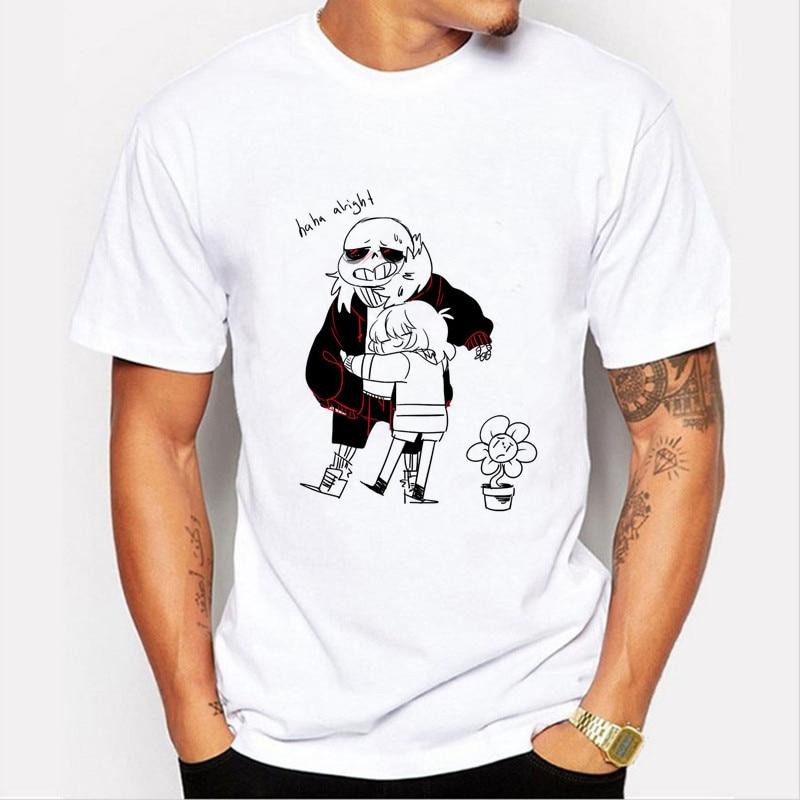 3D joc Undertale T-Shirt cu maneci scurte Undertale Top T-Shirt - Imbracaminte barbati