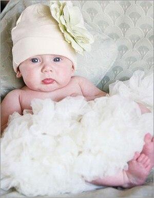 Пышная юбка для малышей Мягкая шифоновая Пышная юбка-пачка для малышей Юбка-пачка для маленьких девочек детская одежда юбка-пачка для новорожденных - Цвет: Слоновая кость