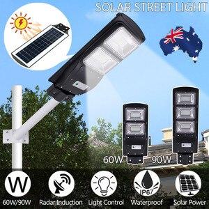 Image 4 - High Quality IP67 60W LED Solar Street Light Outdoor Waterproof Light Control Sensing Smart Led Light Garden Lamp