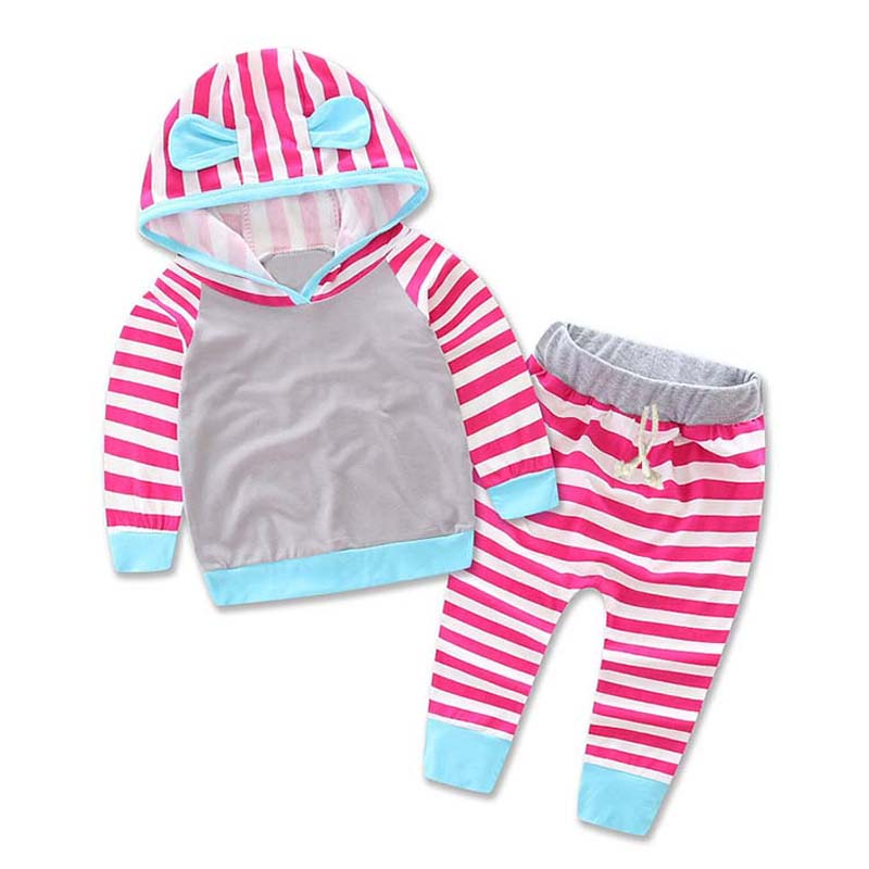 ec98f2704 New Adorable Autumn Newborn Baby Girls boys Pale blue Infant Warm ...