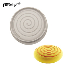 FILBAKE 1PC Big Silicone Cakes Mold 3D Birthday Cake Pan DIY Decorating Tool Large Bread Baking Pastry Moulds Accessories