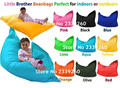 Cover only  No Filler - 	little brother beanbags perfect for outdoor and indoors