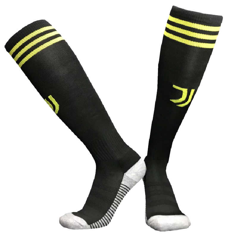 47ee738c5 Detail Feedback Questions about Juventus Soccer Socks Breathable Clubs  Football Thick Warm Team Socks Knee High Training Long Stocking Sports Kid  Adult ...