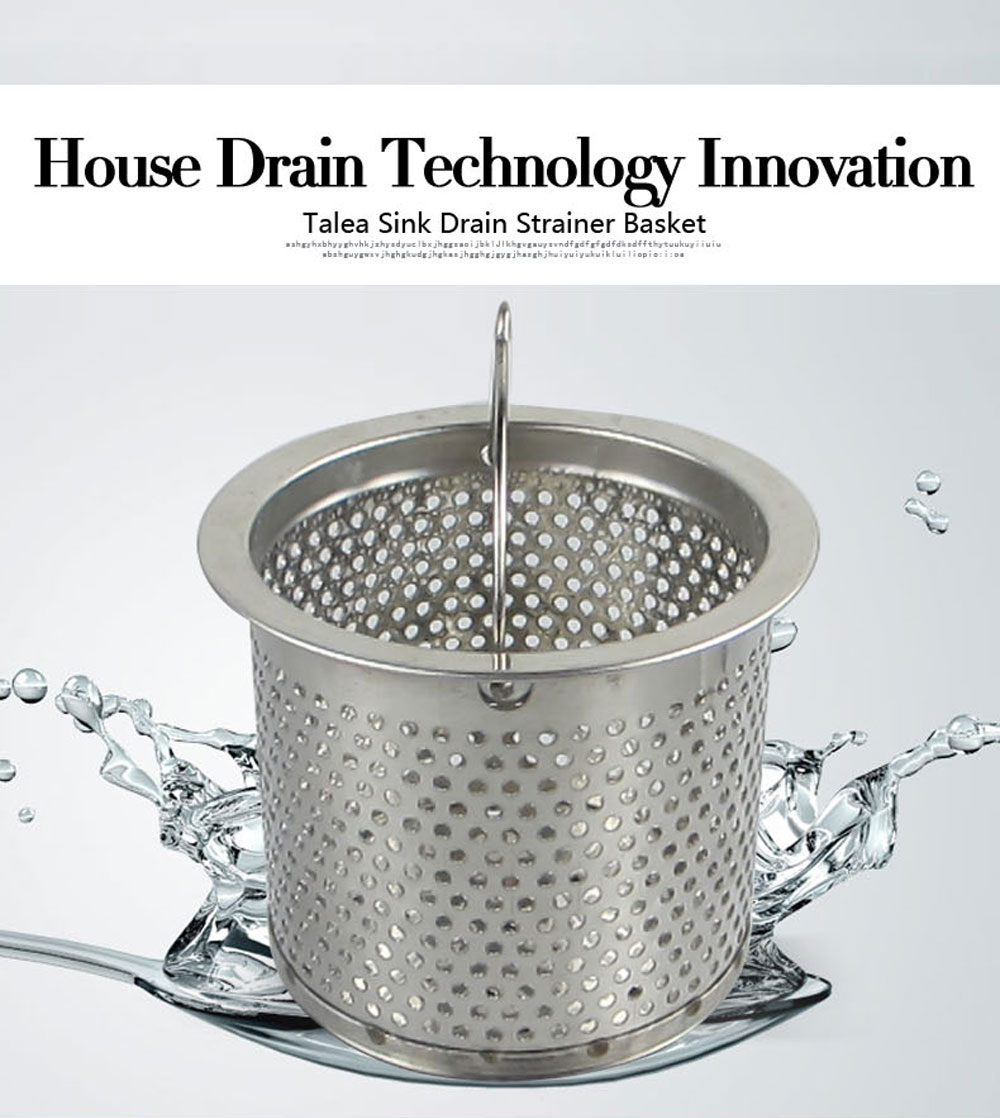 Picture of: Talea 7 7cm Stainless Steel Kitchen Sink Strainer Waste Plug Drain Stopper Filter Basket Basket Filter Basket Strainerbasket Kitchen Aliexpress