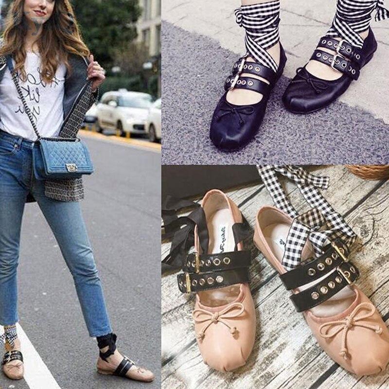 d958133c0c3d Women's Strappy Leopard Round Toe Ballet Flat Espadrilles lace Shoes Causal Shoes  Loafers Ribbon Moccasins Shoes For Women